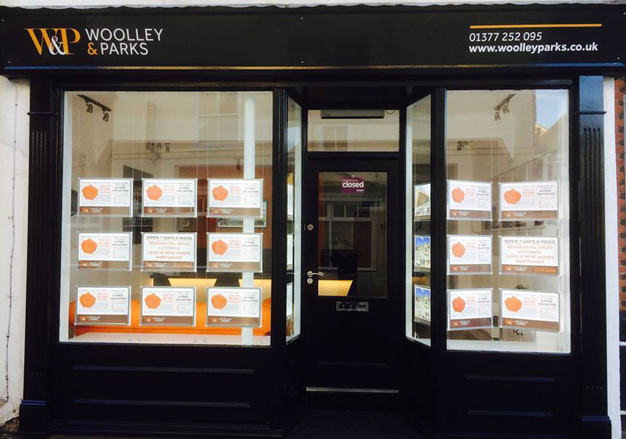 WOOLLEY & PARKS LAUNCHED AND DRIFFIELD OFFICE OPENED