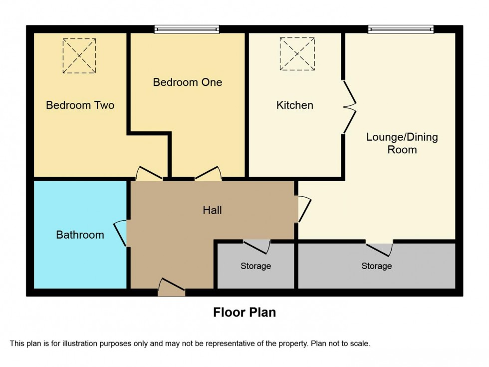 Floorplan for Easterfield Court, Driffield